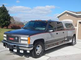 1993 GMC Sierra 3500 Crew Cab 6.5 Turbo Diesel Dually | Custom ...