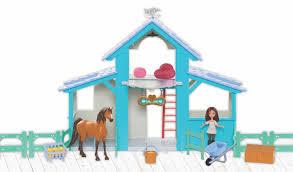 DreamWorks Spirit Riding Free Barn Playset - Toys