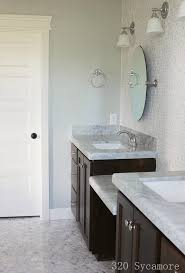Gray And Teal Bathroom by Shades Of Teal And Warm Gray Moody Monday 2
