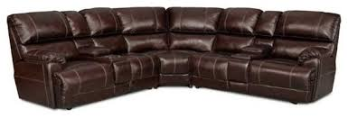 Chocolate Corduroy Sectional Sofa by Presley Power Reclining Sectional Chocolate With Massage