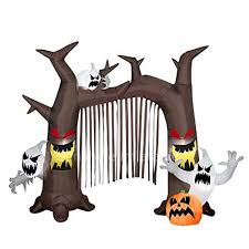 Disney Halloween Airblown Inflatables by 3m Haunted Archway Halloween Air Blown Inflatable Dead Tree Arch