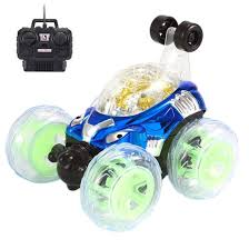 100 Monster Truck Music HANYI 360Spinning Rotation And Flips With Color Flash