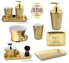kosmetikexpertin de bad accessoires badserie gold shadow