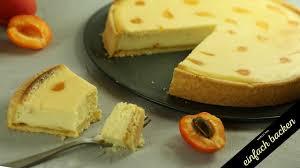 aprikosen cheese cake rezept schnell und einfach