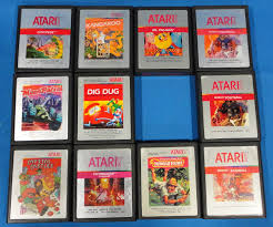 Halloween Atari 2600 Reproduction by Atari 2600 Computer System Game Cartridges Real Sports