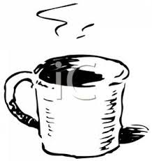 Hot Chocolate Clip Art Black And White