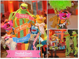 Muppet Theme First Birthday Party