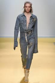 100 denim jeans dress denim bow neck fit flare midi dress