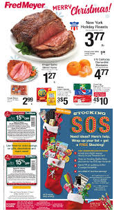 Fred Meyer Christmas Trees by Fred Meyer Weekly Coupon Deals 12 17 U2013 12 24 Holiday Roast Ham