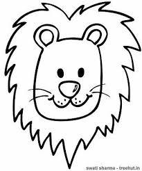 Lion Head LionsColourColoring PagesSearchingPages