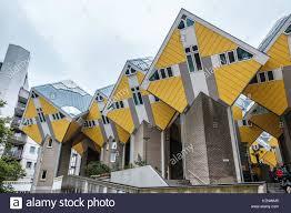100 Cubic House S Rotterdam Netherlands Stock Photo 159677061 Alamy