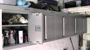 Ebay Cabinets For Kitchen by 5 Dura Wu 012 Wall Mounted Garage Cabinets For Sale On Ebay Youtube