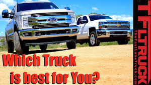 Diesel Or Gas HD: Which Truck Is Best For You? (Video) - The Fast ... 2017 Ford F250 Super Duty Autoguidecom Truck Of The Year Diesel Trucks Pros And Cons Of 2005 Dodge Ram 3500 Slt 4x4 Pros And Cons Should You Delete Your Duramax Here Are Some To Buyers Guide The Cummins Catalogue Drivgline Dually Vs Nondually Each Power Stroking Dieseltrucksdynodaywarsramchevy Fast Lane Srw Or Drw Options For Everyone Miami Lakes Blog