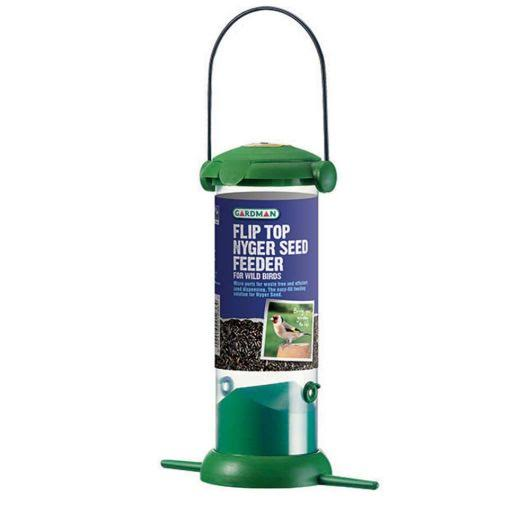 Gardman Green Plastic Bird Feeder - 200mm