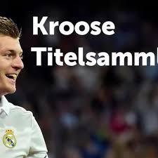 UEFA Supercup Toni Kroos Erweitert Seine Titelsammlung