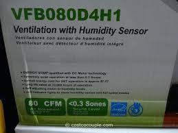 Humidity Sensing Bathroom Fan Wall Mount by Costco Bathroom Fan Ceiling Lights Ceiling Designs Ceiling Lights