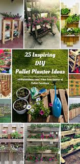 Succulent Pallet Garden Ideas Pallets Stools And Table