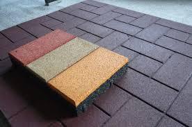 rubber floor tiles rubber flooring options path ideas