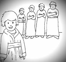Coloring Page Joseph Forgives His Brothers And Free Pages On Art