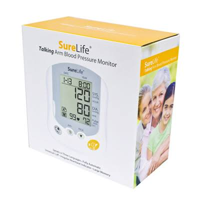 SureLife Premium Talking Arm Blood Pressure Monitor