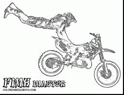 Outstanding Dirtbike Print Outs With Dirt Bike Coloring Pages And Yamaha