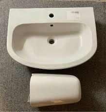 waschbecken waschtisch bad geberit 65cm neu