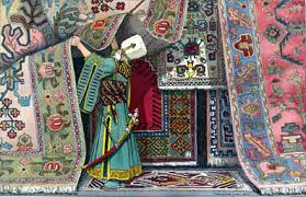 Painting Carpets by Dusharm Dream Of Persia History Of Carpet Weaving In Iran