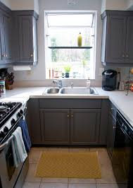 Contemporary Grey Painted Kitchen Cabinets Ideas L Design