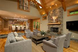 Rustic Living Room Wall Ideas by Living Room Yellow Wall Paint Decoratio Hardwood Floor Fireplace