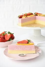 erdbeer mango joghurt kuchen