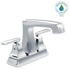 Delta Garden Tub Faucet Removal by Delta Ashlyn 4 In Centerset 2 Handle Bathroom Faucet With Metal