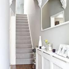 grey traditional hallway with laminate flooring laminate