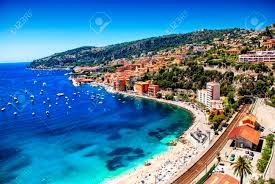 100 Villefranche Sur Mere Stunning View Of The Bay Of Mer France Stock Photo
