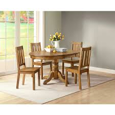 5 Piece Oval Dining Room Sets by Better Homes And Gardens Bankston 5 Piece Dining Set Honey