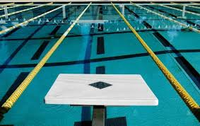 Picture Of Starting Block At The Palm Springs Swim Center