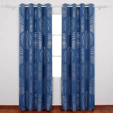 Amazon.com: Deconovo Abstract Circle Print Curtains With Grommets ... Home Decorating Interior Design Ideas Trend Decoration Curtain For Bay Window In Bedroomzas Stunning Nice Curtains Living Room Breathtaking Crest Contemporary Best Idea Wall Dressing Table With Mirror Vinofestdccom Medium Size Of Marvelous Interior Designs Pictures The 25 Best Satin Curtains Ideas On Pinterest Black And Gold Paris Shower Tv Scdinavian Style Better Homes Gardens Sylvan 5piece Panel Set