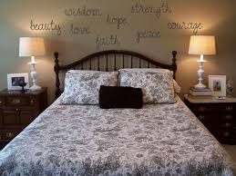 Gorgeous Wall Decoration With Mirrored Letters Exquisite Picture Of Bedroom Using Light Grey