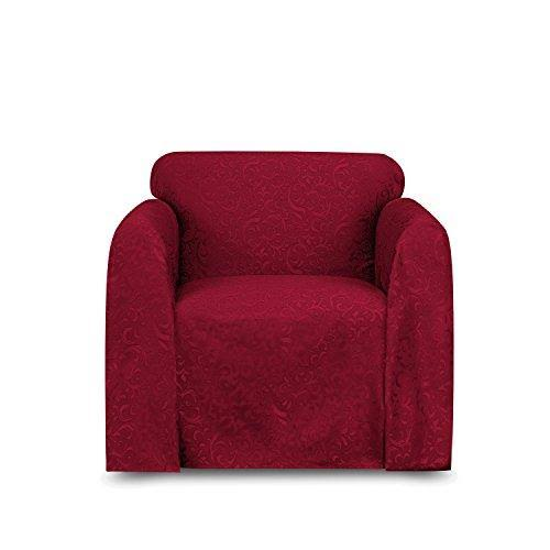 Stylemaster Brianna Jacquard Furniture Throw Spice Chair 70x90