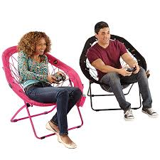 super bungee pear chair at brookstone buy now