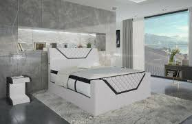 boxspringbett design bett nantes ehebett led hotel luxus