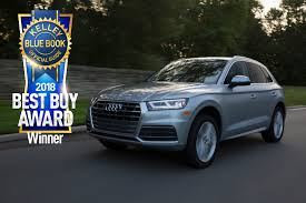 The 2018 Audi A5 Sportback And The 2018 Audi Q5 Earn Kelley Blue ... Tesla Reveals Semi Truck With 500mile Range New Roadster Car Wsj The 2014 Chevy Tahoe A Kelley Blue Book Top 10 Vehicle For Winter Most Reliable Commercial Grant Johnson Youtube How Much Is Your Worth After Crash Line Jb Hunt To Order Electric Semitrucks Minivan Best Buy Of 2018 Used Cars And Trucks In Jersey City State Tradein Value Cory Watilo Values Resource Chevrolet Place Strong Resale Vo