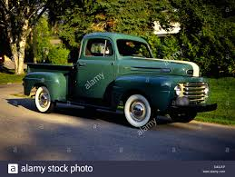 100 Build Ford Truck 1950 F47 Pick Up Canadian Stock Photo 54169746
