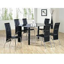 glass dining table and chair sets zagons co