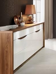 sideboard weiss hochglanz und eiche sangallo woody 77 00785