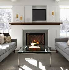 How To Put In A Gas Fireplace by The 25 Best Tv Above Fireplace Ideas On Pinterest Tv Above