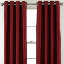 Grommet Top Curtains Jcpenney by Royal Velvet Plaza Grommet Top Curtain Panel