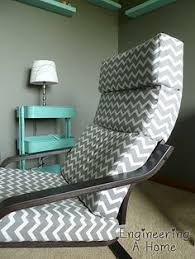 Ikea Poang Chair Covers Canada by Make A Brand New Slipcover For Your Ikea Poang Chair Cover Here U0027s