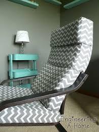 Poang Chair Cushion Uk by Diy Ikea Poang Chair Cover