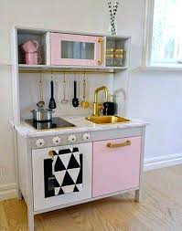 cuisine enfant bois ikea cuisine dinette ikea mommo design ikea hacks for a girly