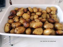 cuisiner des pommes de terre ratte recette de pommes de terre rattes au four